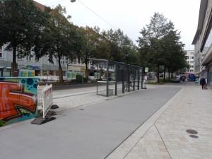 Fahrgastunterstände Oberntorwall Nord