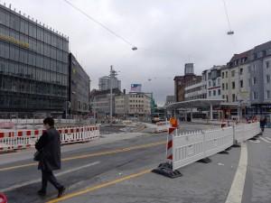 Neue Haltestellendächer Jahnplatz