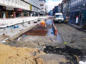 Arbeiten Betonfahrbahn Herforder Str. (1)