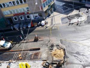 Arbeiten Betonfahrbahn Herforder Str. (2)