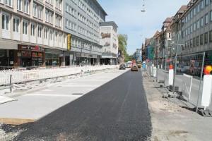 Asphalt-Fahrbahn Herforder Straße (3)
