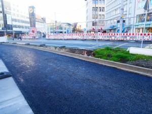 Asphaltarbeiten Alfred-Bozi-Straße