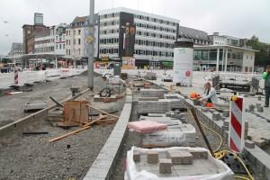 Baufortschritt zentrale Platzfläche (1)