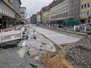 Betonfahrbahn Herforder Straße
