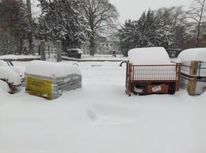 Extreme Witterungsbedingungen auf dem Jahnplatz (1)