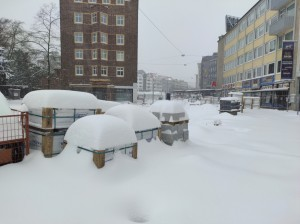 Extreme Witterungsbedingungen auf dem Jahnplatz (2)