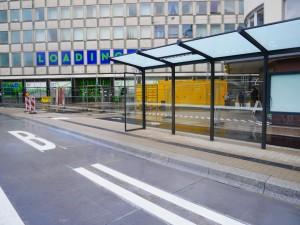 Fahrbahnmarkierung Friedrich-Verleger-Straße (1)