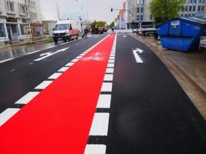 Fahrbahnmarkierung Friedrich-Verleger-Straße (4)