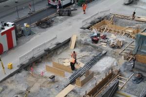Fundamentarbeiten vor McDonalds (1)