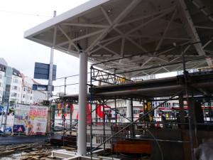 Haltestellendächer vor Café Europa Riemeier (1)