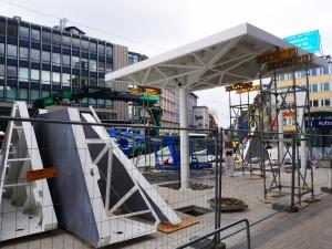 Haltestellendächer vor Café Europa Riemeier (2)