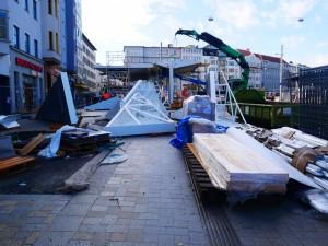 Haltestellendächer vor Cafe Europa Riemeier (1)