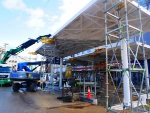 Haltestellendächer vor Cafe Europa Riemeier (3)
