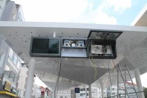 Installation Fahrplananzeige