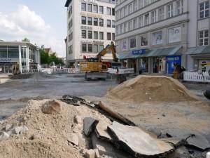 Arbeiten Jahnplatzuhr (1)