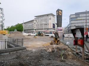 Arbeiten Jahnplatzuhr (2)