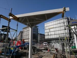 Montage der Dachsegmente (1)