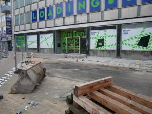 Pflasterarbeiten Einmündung Wilhelmstraße