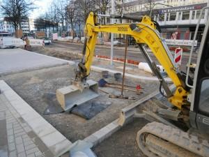 Pflasterarbeiten Friedenstraße