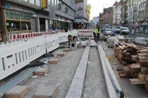Pflasterarbeiten Herforder Straße (2)