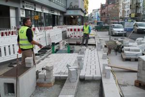 Pflasterarbeiten Herforder Straße (3)