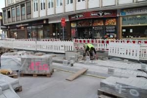 Pflasterarbeiten Herforder Straße (6)