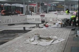 Pflasterarbeiten Jahnplatz (2)