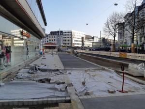 Pflasterarbeiten Natursteinpflaster Alfred-Bozi-Straße