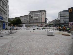Plasterarbeiten Jahnplatz. (2)
