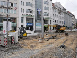 Plasterarbeiten Jahnplatz. (3)