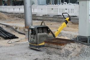 Plasterarbeiten auf der zentralen Platzfläche (6)