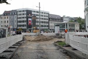 Plasterarbeiten auf der zentralen Platzfläche (7)