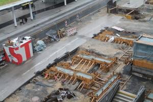 Schachtbauwerk und Fundamente (3)
