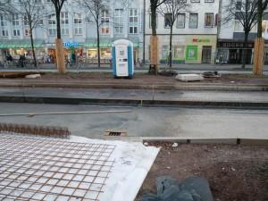 Schalungsarbeiten Alfred-Bozi-Straße