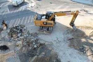 Tiefbauarbeiten vor McDonalds (2)