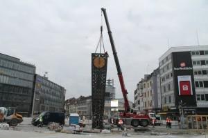 Umsetzen der Alcina-Uhr (1)