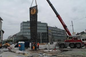 Umsetzen der Alcina-Uhr (2)