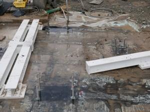 Verankerung von Stahlbauteilen für Haltestellendächer (2)