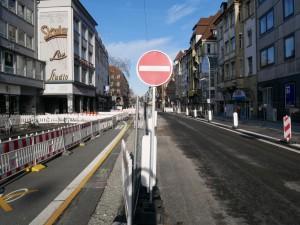 Verlegung Baufeld Herforder Straße