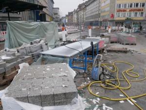 Zeltarbeiten am Jahnplatz (3)