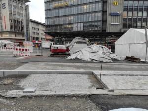 Zelte vor dem Cafe Europa (3)